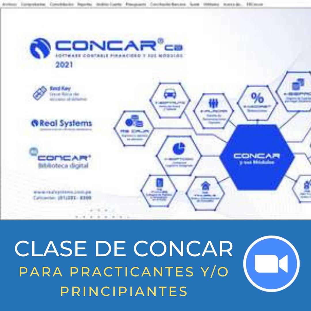 CLASES DE CONCAR PARA PRINCIPIANTES Y PRACTICANTES